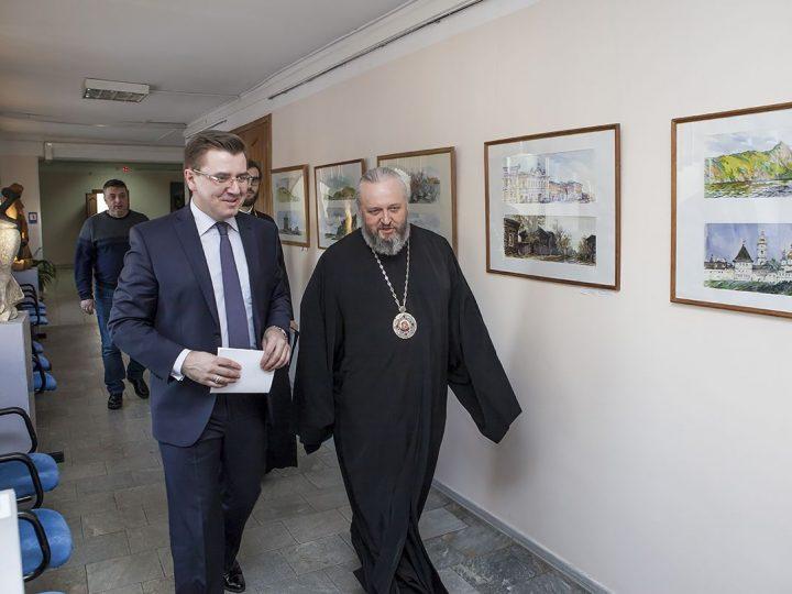 Студенты КемГИКа прослушали лекцию митрополита Аристарха