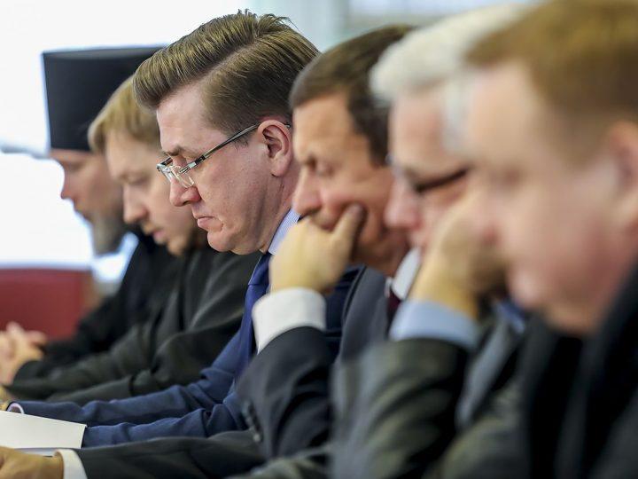 Состоялась первая встреча Сопредседателей и членов Общественного совета Кемеровского отделения Всемирного Русского Народного Совета в 2017 году