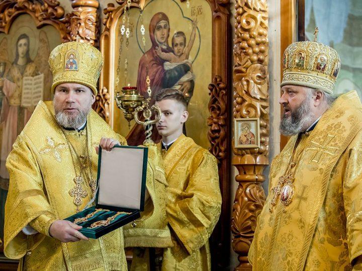 День тезоименитства отметил епископ Новокузнецкий и Таштагольский Владимир