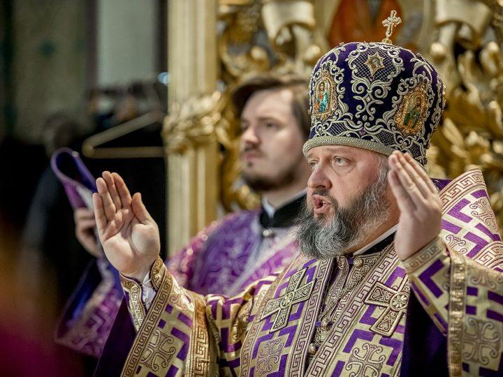 Служения митрополита Аристарха в 4-ю неделю поста