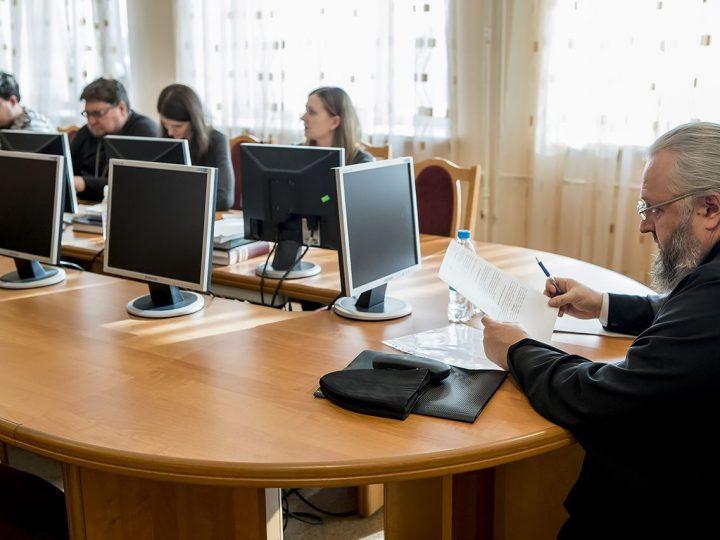 Владыка Аристарх принял экзамен у студентов-теологов