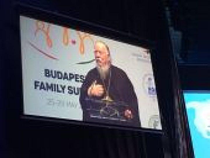Председатель Патриаршей комиссии по вопросам семьи, защиты материнства и детства выступил на открытии XI Всемирного конгресса семей в Будапеште