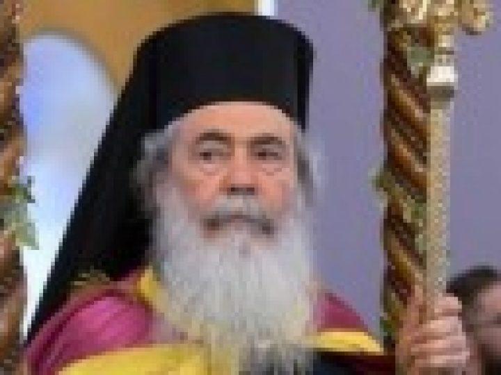 Блаженнейший Патриарх Иерусалимский Феофил осудил действия, направленные против канонической Украинской Православной Церкви