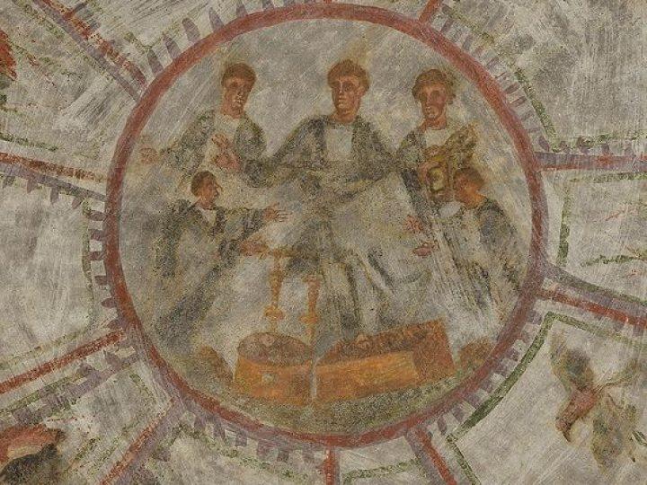 Уникальные раннехристианские фрески нашли в катакомбах Рима с помощью ультратонкого лазера