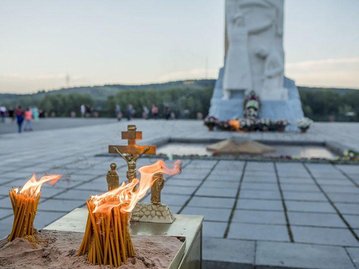 В Кемерове зажглась «Свеча памяти»