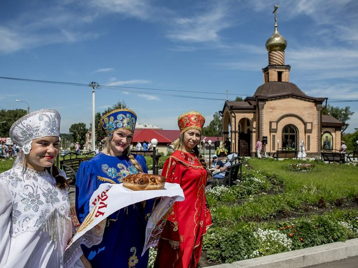 В Киселевске освящен новый храм