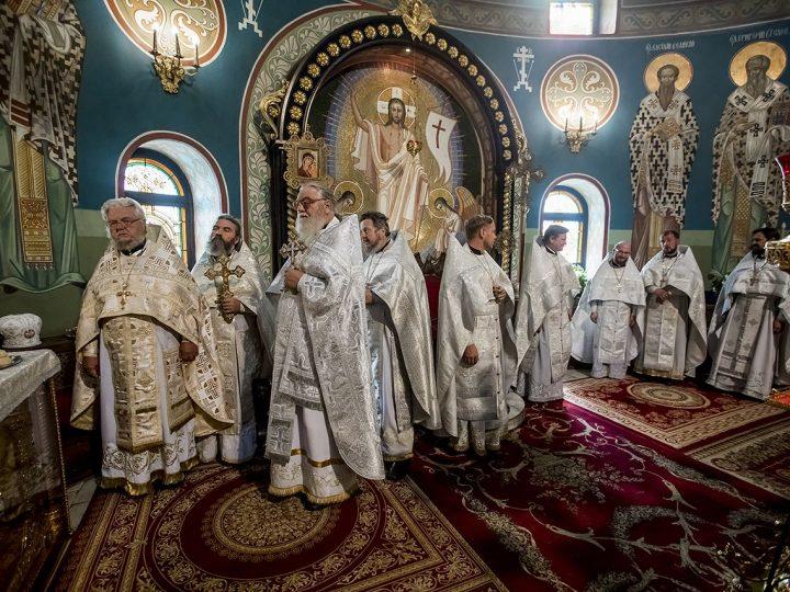 20 августа 2017 г. Божественная Литургия в день архиерейской хиротонии митрополита Аристарха