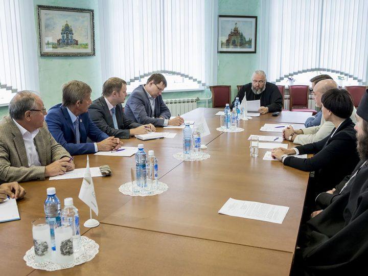 22 августа 2017 г. Встреча главы митрополии с ректорами ВУЗов города Кемерово