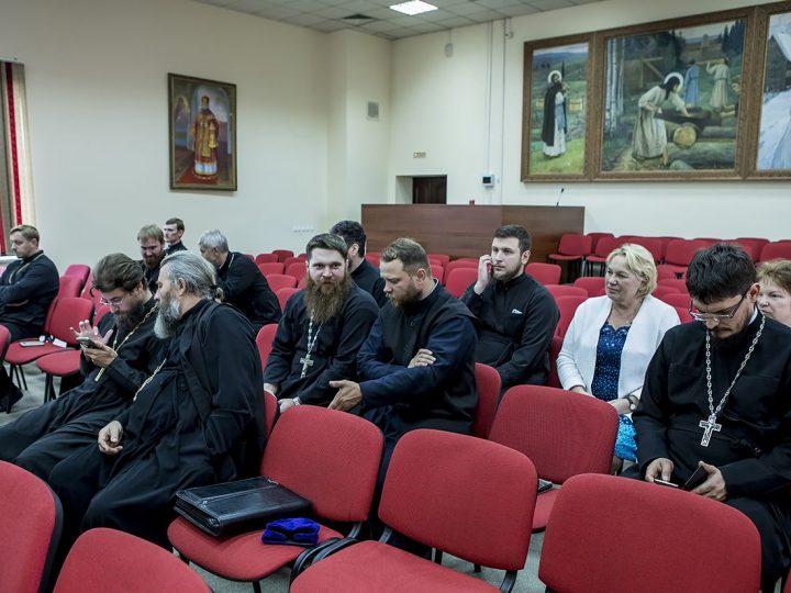 Состоялось очередное заседание Епархиального совета Кемеровской епархии