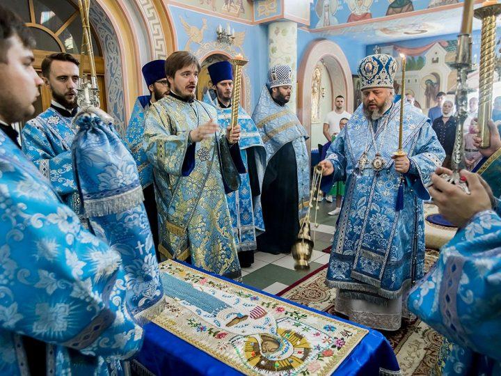 Женский монастырь в селе Елыкаево встретил свой престольный праздник