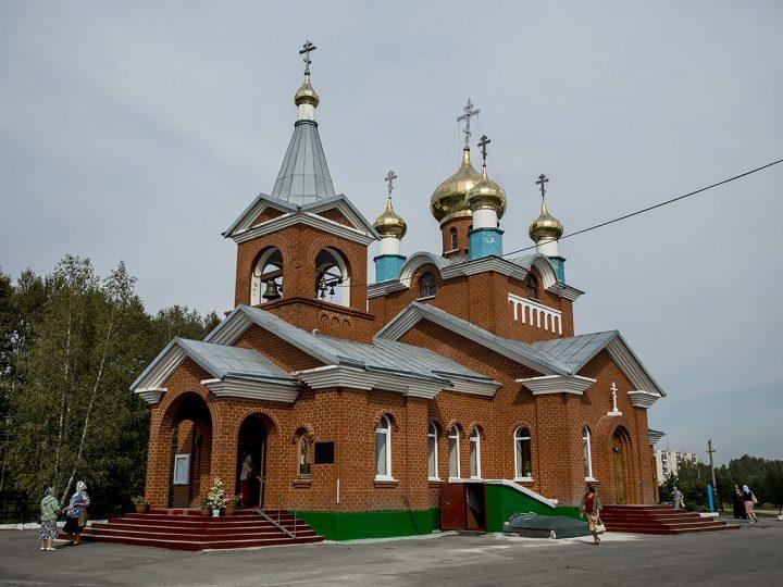 Накануне праздника Преображения митрополит совершил Всенощное бдение в Богоявленском храме Бачатского