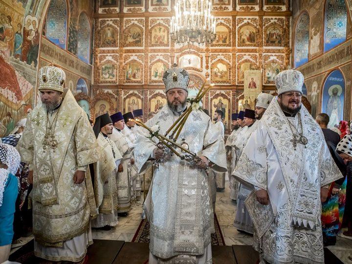 19 августа 2017 г. Престольный праздник Спасо-Преображенского кафедрального собора в Новокузнецке