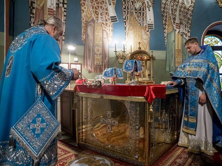 В праздник Рождества Пресвятой Богородицы митрополит совершил Литургию в кафедральном соборе