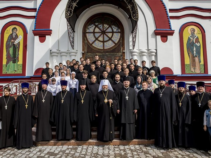 В Кузбасской семинарии начался новый учебный год