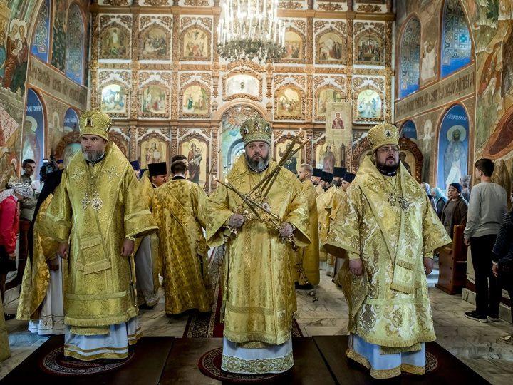 1 сентября 2017 г. Третья годовщина архиерейской хиротонии епископа Новокузнецкого и Таштагольского Владимира