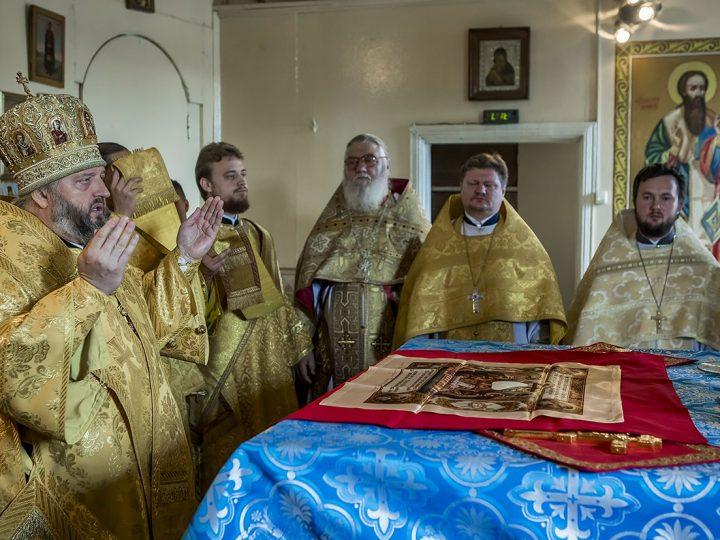 В первое воскресенье сентября глава митрополии сугубо молился о шахтерах Кузбасса