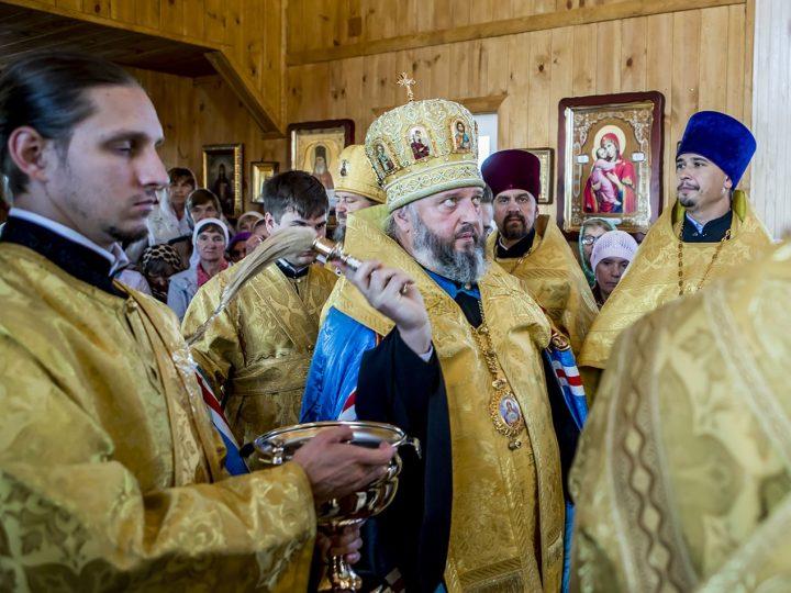 3 сентября 2017 г. Освящение храма святителя Луки Крымского в Белове