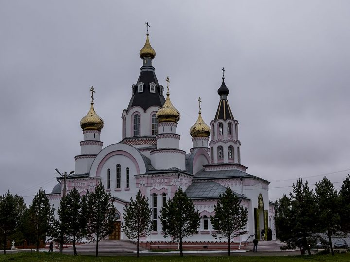 8 сентября 2017 г. Пятилетие Мариинской епархии