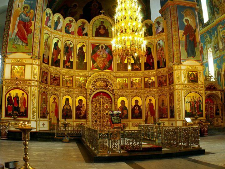 Во второе воскресенье поста митрополит Аристарх совершил богослужения в Знаменском соборе