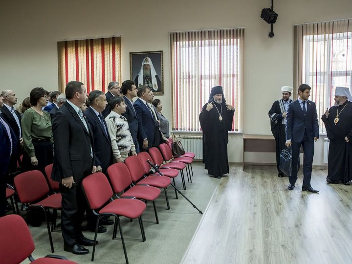 20 октября 2017 г. Встреча духовенства Кузбасской митрополии с депутатами областного совета