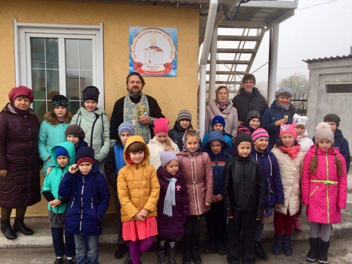 Воскресная школа «Зернышко» отметила новоселье
