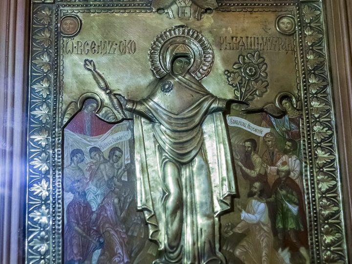 5 ноября 2017 г. Всенощное бдение на приходе иконы Божией Матери «Всех скорбящих Радость» г. Кемерово