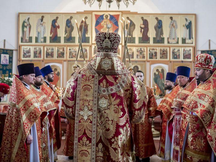 21 ноября 2017 г. Престольный праздник храма Архангела Михаила в д. Береговая Кемеровского района