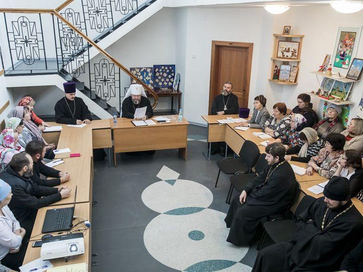 Педагогический совет Православных богословских курсов прошел в Киселевске