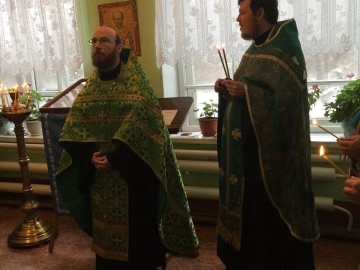 В часовне священномученика Михаила Маркова совершилось богослужение перед иконой блаженной Матроны Московской