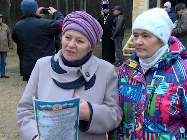 Епископ Мариинский и Юргинский освятил часовню близ Новороманово
