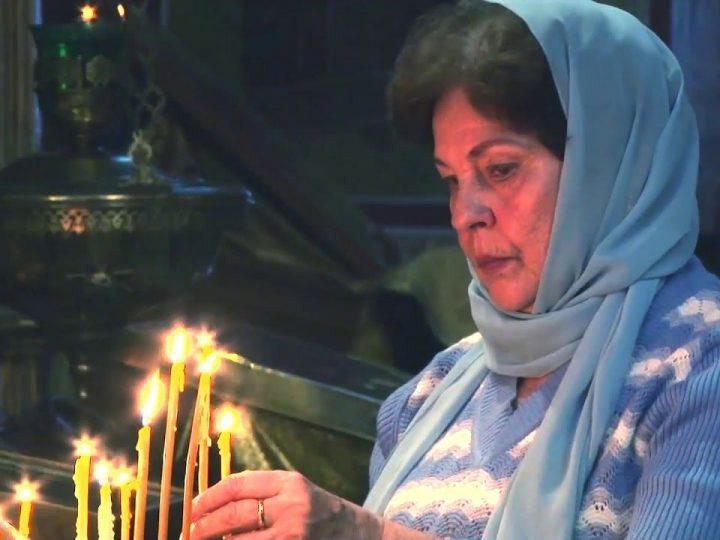 В день Народного единства совершили литургию в Знаменском соборе