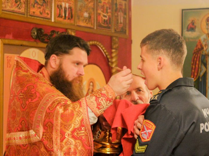 Домовый храм кадетского корпуса отметил престольный праздник