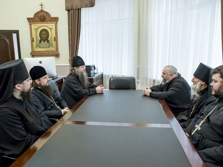 Глава митрополии встретился с игуменами ставропигиальных монастырей