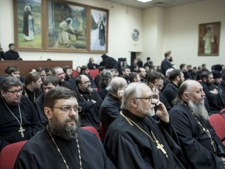 Состоялось годовое собрание духовенства Кемеровской епархии