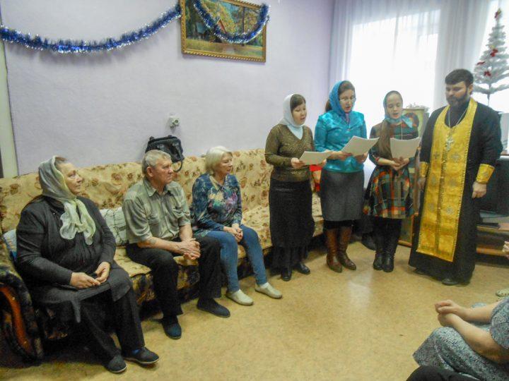 В ленинск-кузнецком социальном центре прозвучали рождественские колядки