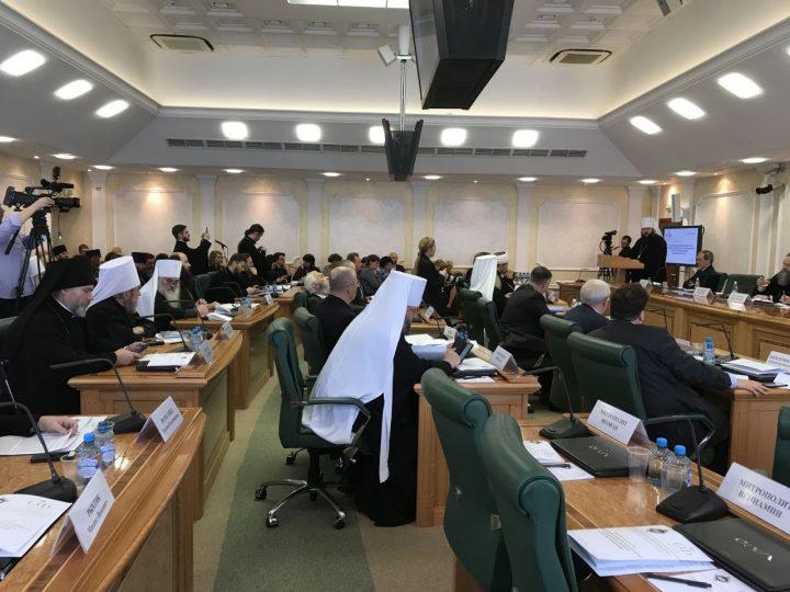 В рамках VI Рождественских парламентских встреч прошел круглый стол «Роль духовно-нравственных ценностей в формировании личности в системе образования»