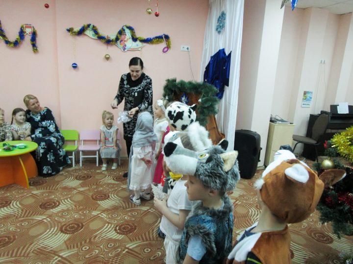 В инновационном кемеровском детском саду «АБВГДейка» состоялся святочный праздник