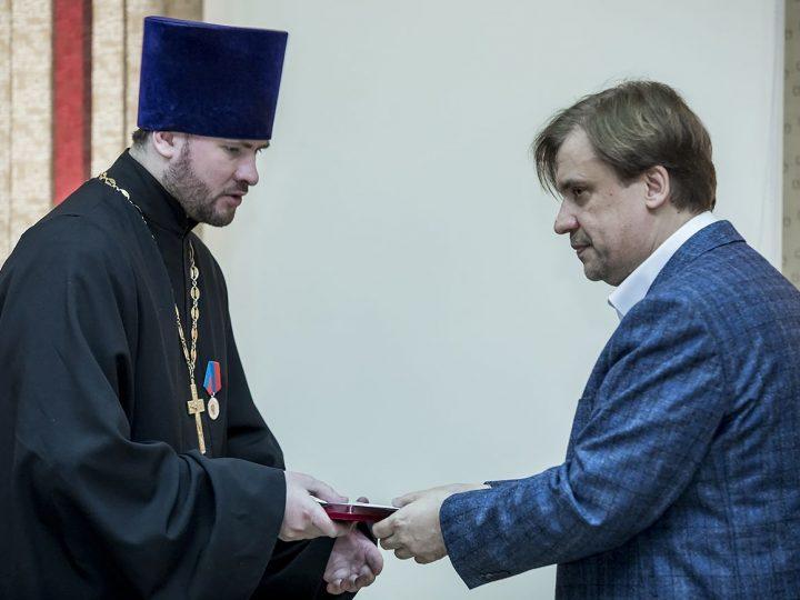 Клирики Кузбасской митрополии получили областные награды