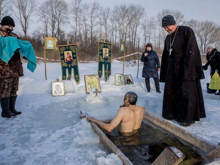 Опубликован реестр мест крещенских купаний в Кемеровской области на 18-19 января