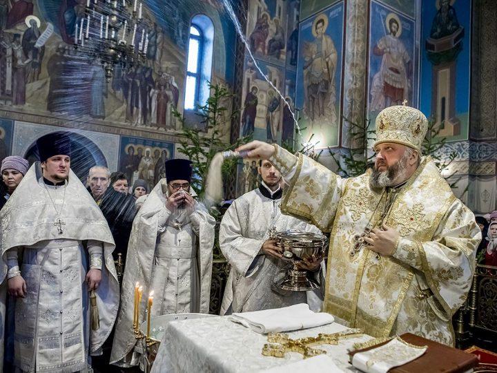 19 января. Богоявление в Знаменском кафедральном соборе