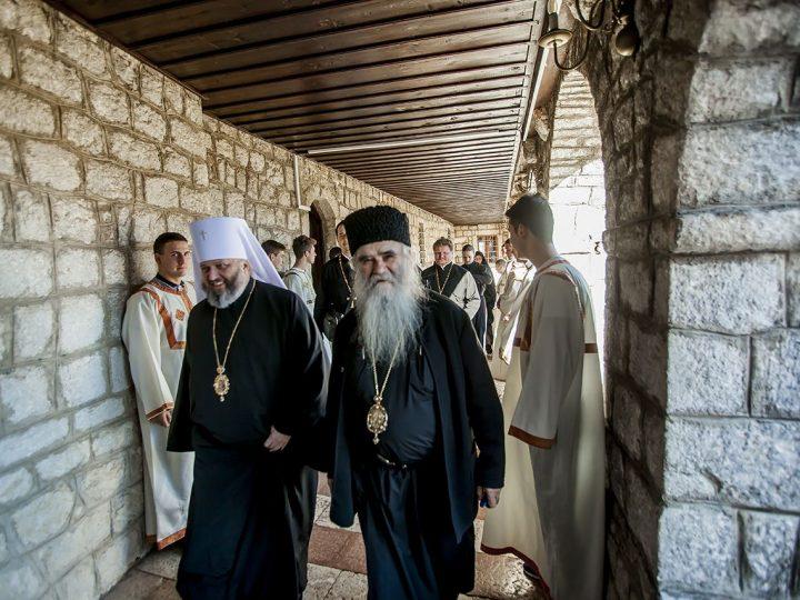 Делегация Кемеровской епархии приняла участие в праздновании памяти святителя Саввы Сербского