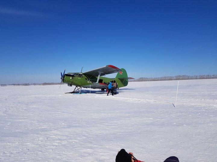Православные ратники совершили свой первый прыжок с парашюта