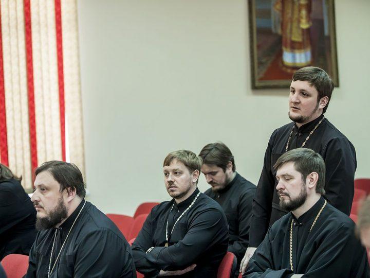 В Кемеровской епархии состоялось собрание руководителей отделов