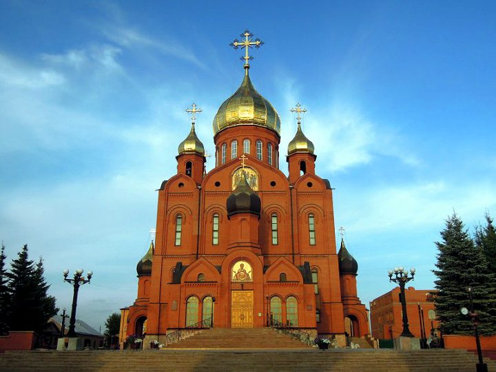 Жители и гости Кемерова смогут побывать на колокольне главного собора Кузбасса в светлую седмицу