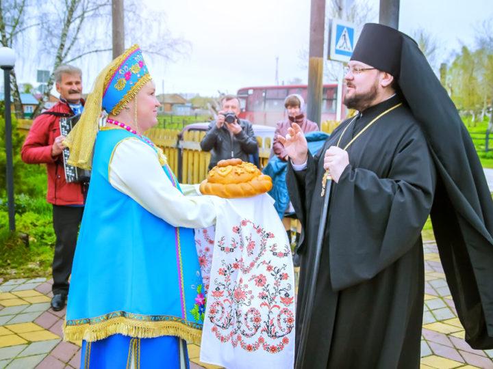 В селе Пача Яшкинского района состоялось первое архиерейское богослужение