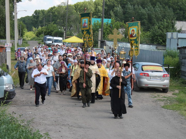 Традиционный Ильинский крестный ход состоится в Новокузнецкой епархии