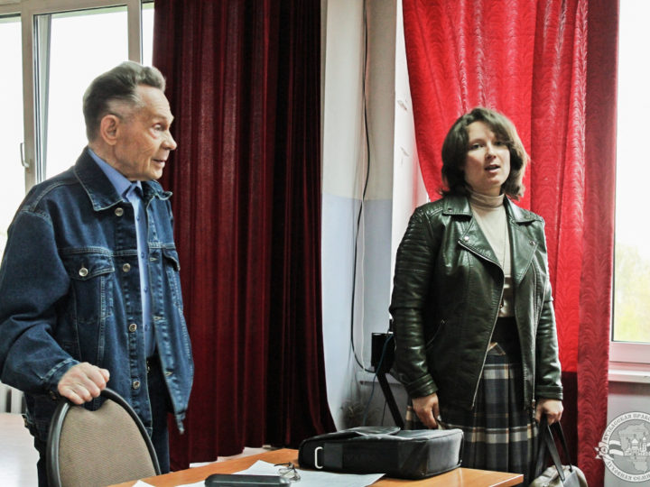 В рамках литературного клуба в Кузбасской семинарии состоялась лекция по творчеству поэта Николая Рубцова