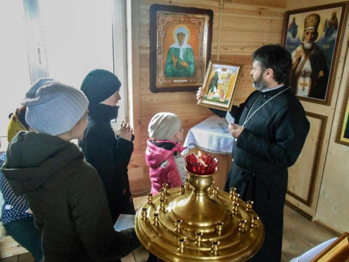 Прихожанам Ленинск-Кузнецкого храма рассказали об истории славянской письменности