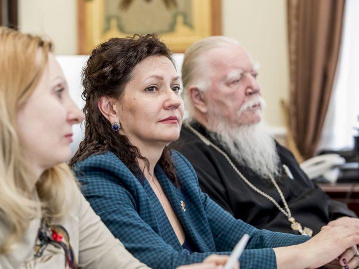 В Кемеровском епархиальном управлении состоялось совещание представителей Церкви и администрации области