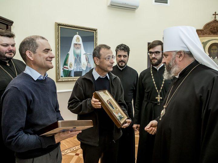18 мая 2018 г. Встреча митрополита Аристарха с делегацией общины Тэзе